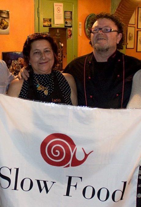 Art. Il Tirreno 5-12.17 Osteria Pasta e Vino di Cascina conquista la Chiocciola Slow Food