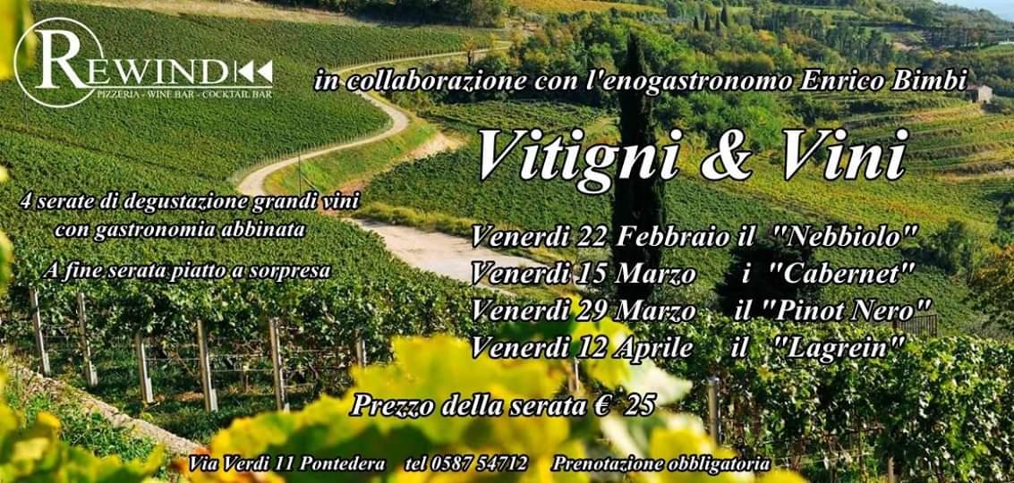 I Pinot Nero protagonisti da Rewind per la terza tappa della Rassegna Vitigni e Vini